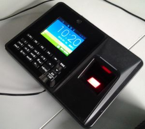 Fingerprint Time Attendance Terminal with Backup Lithium Battery
