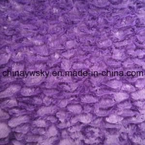Polyester PV Solid Dyed Fleece Fabric pictures & photos