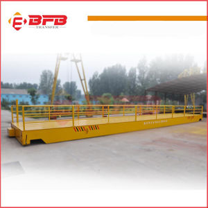 Busbar Powered Transfer Trolley on Rail for Heavy Load Transferring pictures & photos