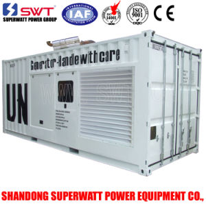 1000kVA 50Hz 20ft Containerized Diesel Generator Set Power Mtu