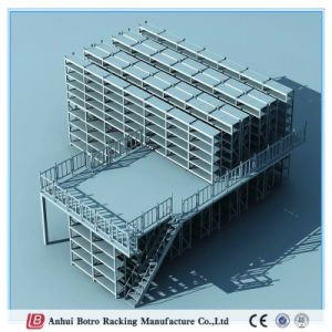 China Best Selling Powder-Coating and Heavy Duty Mezzanine Racking Working Platform 500kgs Per Sqm pictures & photos