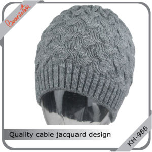 Quality Cable Jacquard Design Hat