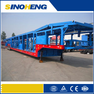 Extendable Tri-Axle Hydraulic Car Carrier Semi Trailer pictures & photos