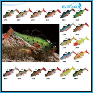 Three Size Soft Lead Fish in Multi Color Fishing Bait pictures & photos