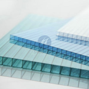 UV Protected Polycarbonate PC Hollow Sheet by Bayer Makrolon pictures & photos