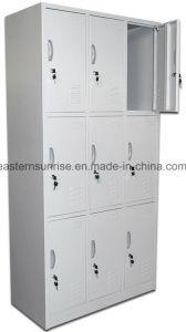 Low Price Strong 9 Door Metal Steel Storage Locker pictures & photos