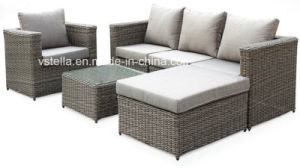 4-Piece Outdoor Rattan Wicker Sofa Sectional Patio Furniture Set pictures & photos