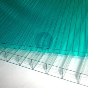 Greenhouse Polycarbonate Hollow Sheet with UV Layer pictures & photos