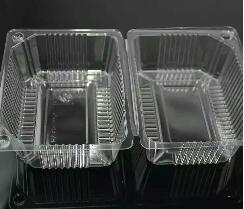 Transparent Blister Plastic Disposable Packing Salad Fruit Tray Container Cake Box pictures & photos