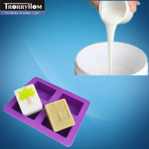 Platinum Cure Silicone Rubber for Making Colorful Soap Molds pictures & photos