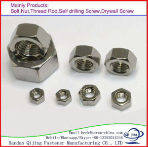 Reasonable Price JIS B 1186 Hot DIP Galvanized Hexagon Nut pictures & photos