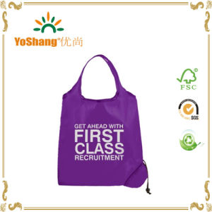 High Quality Polyester Shopping Bag Factory Nylon Folding Bag with Pouch pictures & photos
