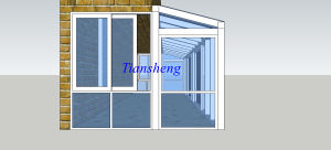 Aluminum Sliding Window with Double Glazing and Crimsafe Screen pictures & photos