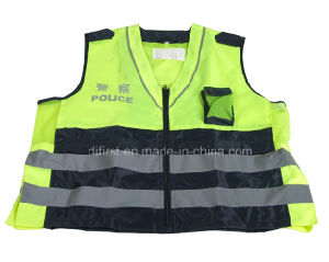 High Visibility Reflective Safety Vest with En471 (DFV1016) pictures & photos