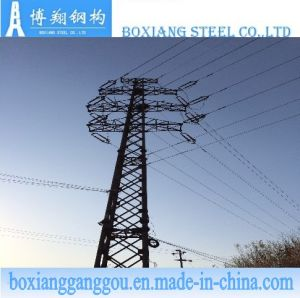 Galvanized Angle Tubular Towers