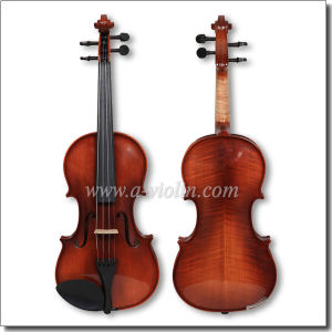Hand Made Conservatory Violin with Good Nature Flame (VM130-SG) pictures & photos