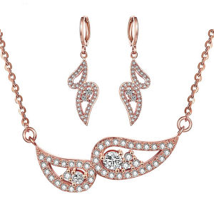 Rose Gold Fashion Jewelry with Diamond Wholesales pictures & photos