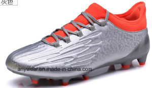 China Men Sports Outdoor Soccer Boots Football Shoes (815-6413) pictures & photos