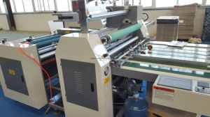 Semi-Auto Laminating Machine (paper packing machine) pictures & photos