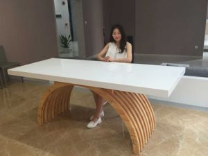 Marble Stone Home Office Desk for Office pictures & photos