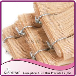 100% Remy Indian Glue Hair Extension pictures & photos