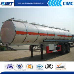 30m3 Oil Tanker Semi Trailer/Fuel Tank (WL9403GRY) pictures & photos