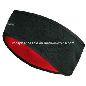 Custom Elastic Polar Fleece Sport Headband pictures & photos