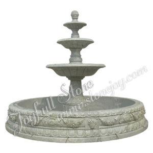 Green Marble Outdoor Fountain (GFP-213)