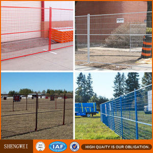 Factory Price 6X9.5FT Construction Site Temporary Fence in Canada Market pictures & photos
