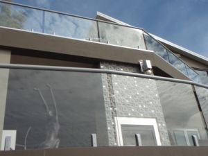 Outdoor Glass Railings (PR-1017) pictures & photos