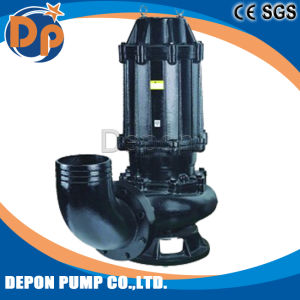Waste Water Treatment Submersible Sewage Cutter Pump with Agitator pictures & photos