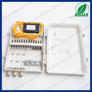FTTH Wall-Mounted Optical Fiber Terminal Box with High Quality pictures & photos