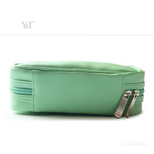 Wholesale Custom Printing  Fashion Leather Cosmetic Makeup Toiletry Women Bag pictures & photos