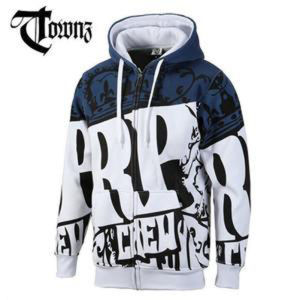 Custom Cotton/Polyester Printed Hoodies Sweatshirt of Fleece Terry (F128) pictures & photos