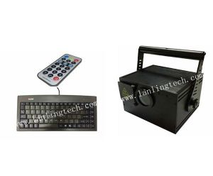Lj250RGB 250MW RGB 15kpps Im-Text RC Keyboard Laser Light pictures & photos