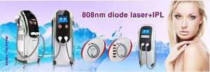 Professional 808nm Diode Laser Hair Removal with IPL pictures & photos