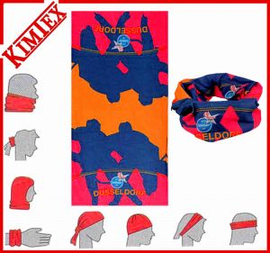 100% Polyester Unisex Fashion Printig Multifunctional Bandana pictures & photos