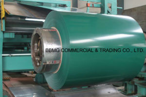 Corrugated Roofing Metal Material PPGI/Gi Color Coated Steel Coil ASTM Prepainted Steel Coil pictures & photos