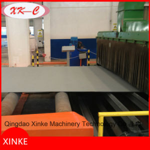 Automatic Pass Through Type Steel Plate Shot Blasting Machine and Painting Line pictures & photos