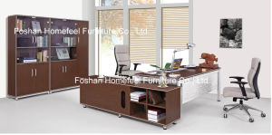 Melamine Wooden Executive Office Desk Furniture (HF-B201) pictures & photos