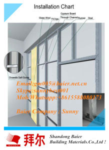Gypsum Board Wall Partition 12mm Gypsum Plaster Board pictures & photos
