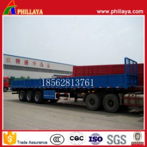 Three Axle Side Wall Panels Open Trailer pictures & photos