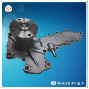 Sand Casting Kubota Water Pump for Excavator Engine Parts