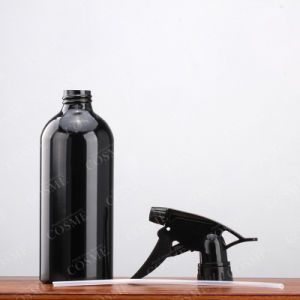 Black Lotion Pump Hair Care Aluminum Cosmetic Bottle pictures & photos