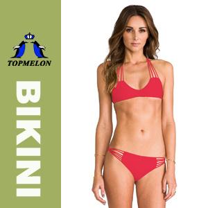 New Sexy Womens Strappy Halter Bikini Set Swimwear Swimsuit (T167)