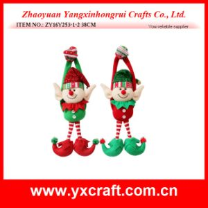 Christmas Decoration (ZY14Y512-1-2) Christmas Clown Stuffed Toy Christmas Elf on Shelf pictures & photos