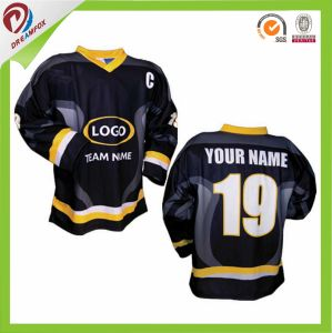Dreamfox Wholesale China Cheap Custom Sublimation Team Ice Hockey Training Jersey pictures & photos