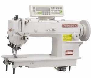 up and Bottom Feed Lockstitch Machine with Automatic Trimmer (FF0398D3)