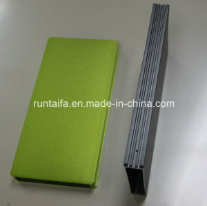 Green and Gun Smoke Anodizing Power Case Sheet Metal Part