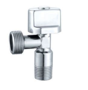 Nickel Brass Angle Valve with ABS Handle (BX-510)